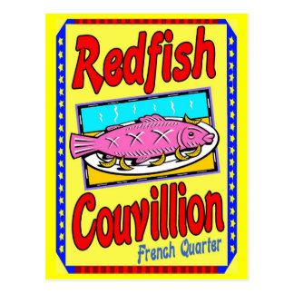 Cartão Postal Salmonetess Couvillion