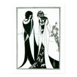 Cartão Postal Salome com sua mãe, Herodias, 1894 (litho) (b