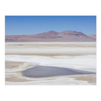 Cartão Postal Salt Lake na estrada a Argentina
