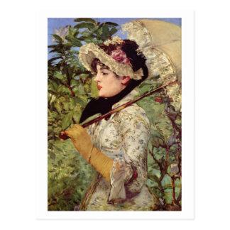 Cartão Postal Salte (estudo de Jeanne de Marsy) por Edouard