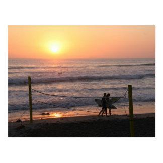 Cartão Postal Salva & surf de Sun