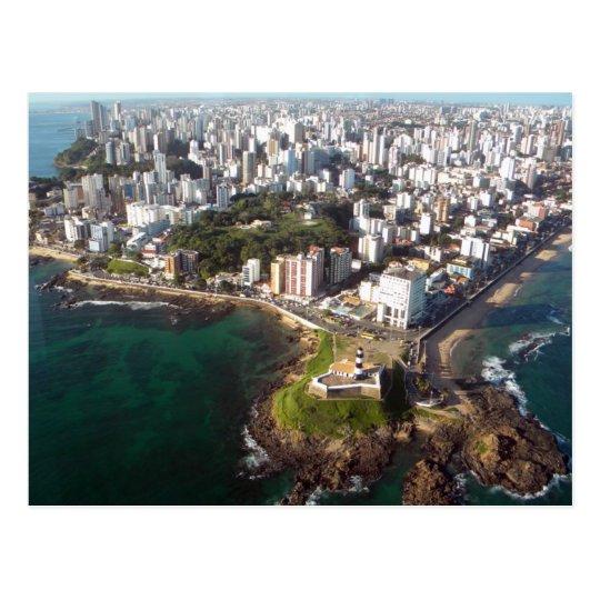 Cartão Postal Salvador - Vista Aérea