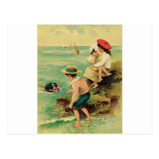 Cartão Postal Salvamento do mar