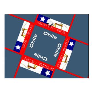 Cartão Postal Salvamento do mineiro no Chile