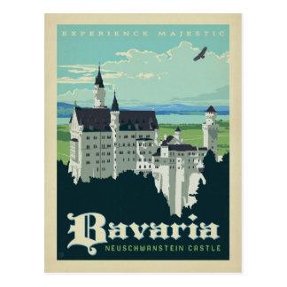 Cartão Postal Salvar a data | Baviera, castelo de Neuschwanstein