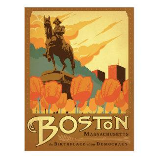 Cartão Postal Salvar a data   Boston, MÃES
