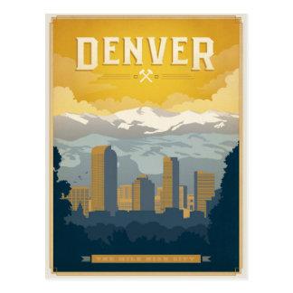 Cartão Postal Salvar a data | Denver, CO