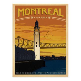 Cartão Postal Salvar a data | Montreal, Canadá