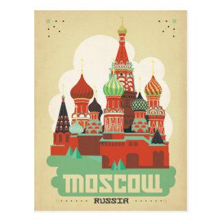 Cartão Postal Salvar a data   Moscovo, Rússia
