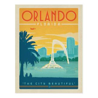 Cartão Postal Salvar a data | Orlando, FL