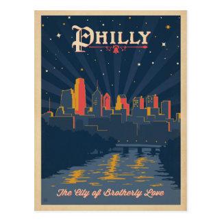 Cartão Postal Salvar a data | Philadelphfia, PA