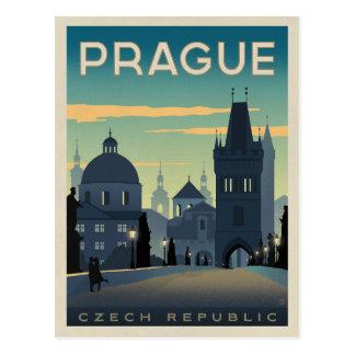 Cartão Postal Salvar a data | Praga, república checa