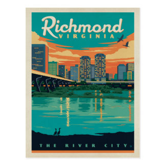 Cartão Postal Salvar a data - Richmond, VA