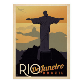 Cartão Postal Salvar a data | Rio De Janiero, Brasil