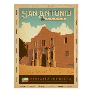 Cartão Postal Salvar a data | San Antonio, TX