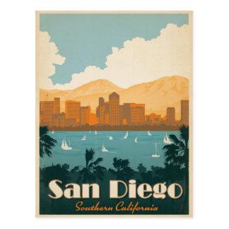Cartão Postal Salvar a data | San Diego, CA
