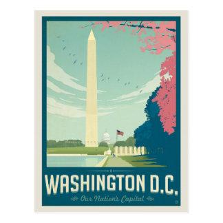 Cartão Postal Salvar a data | Washington, C.C. 2