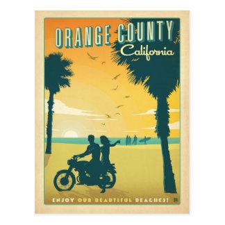 Cartão Postal Salvar o Condado de Orange da data |, CA