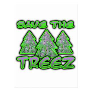 Cartão Postal Salvar o Treez