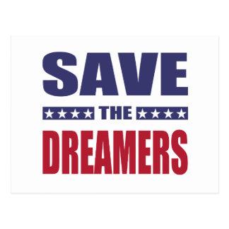 Cartão Postal Salvar os sonhadores