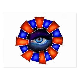 Cartão Postal Salvenitus - olho de observação