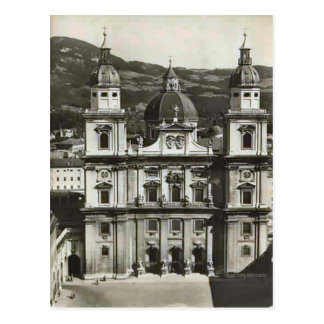Cartão Postal Salzburg, Domkirche