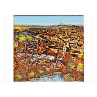 Cartão Postal Salzburg na arte