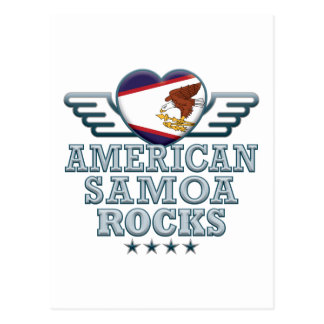 Cartão Postal Samoa Americanas balançam v2
