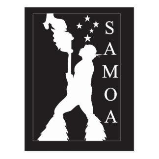 Cartão Postal SamoaBlackWhite.ai