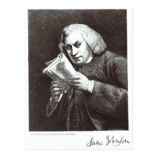 Cartão Postal Samuel Johnson