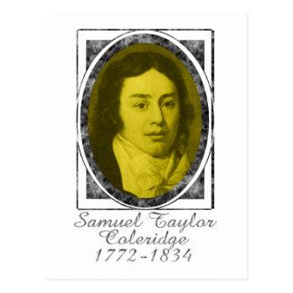 Cartão Postal Samuel Taylor Coleridge
