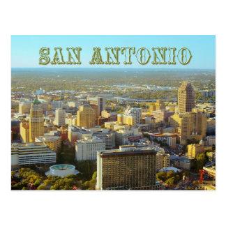 Cartão Postal San Antonio, Texas - vista aérea