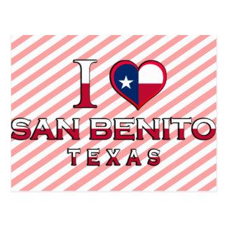 Cartão Postal San Benito, Texas