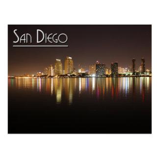 Cartão Postal San Diego na noite