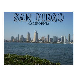 Cartão Postal San Diego - vista do centro da ilha de Coronado