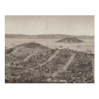 Cartão Postal San Francisco, 1862 do monte do russo
