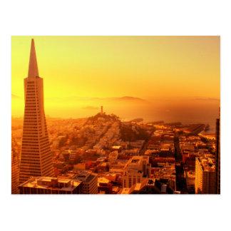 Cartão Postal San Francisco do centro, CA