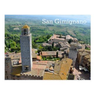 Cartão Postal San Gimignano, Italia