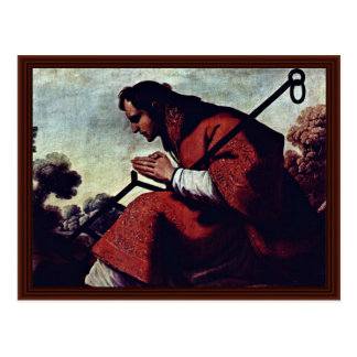 Cartão Postal San Lorenzo por Zurbarán Francisco De