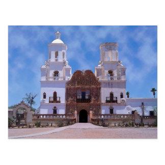 Cartão Postal San Xavier del CCB Missão - Tucson, AZ
