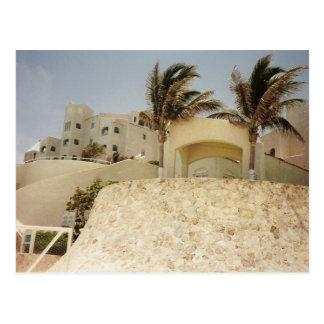 Cartão Postal Sandcastle Cancun