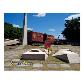 Cartão Postal Santa Clara, Cuba. O trem descarrilhado 3