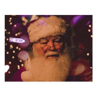 Cartão Postal Santa Claus