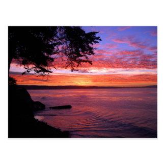 Cartão Postal Santa Cruz, nascer do sol do CA