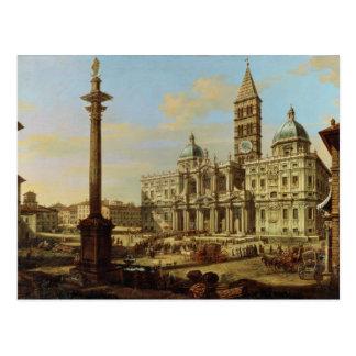 Cartão Postal Santa Maria Maggiore, Roma, 1739