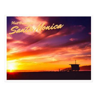 Cartão Postal Santa Monica bonita