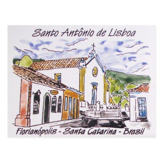 Cartão Postal Santo Antonio de Lisboa - vários