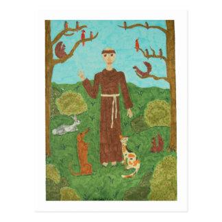 Cartão Postal Santo Francisco de Assis