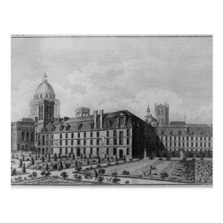 Cartão Postal Santo-Genevieve da abadia, Paris