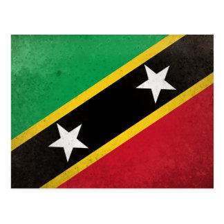 Cartão Postal Santo Kitts e Nevis